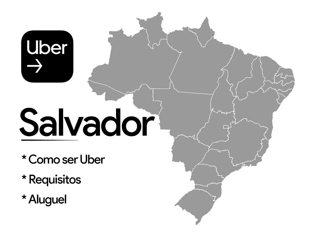 Como trabalhar de Uber em Salvador
