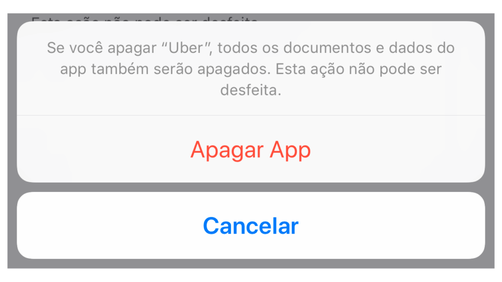Limpando Cache de Aplicativo no iPhone