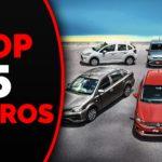 TOP 5 carros econômicos para trabalhar na Uber