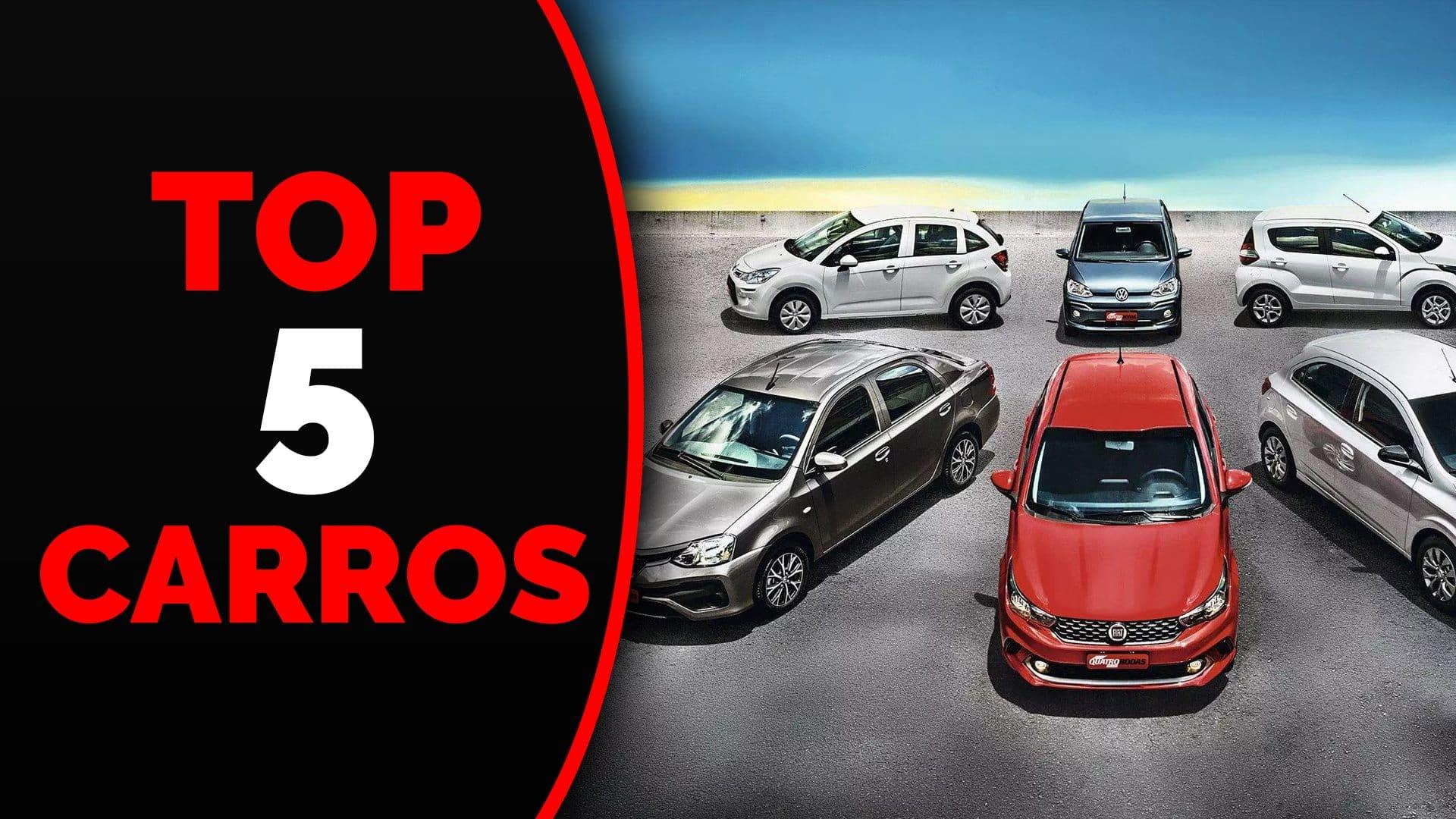 Top 5 Carros para Uber